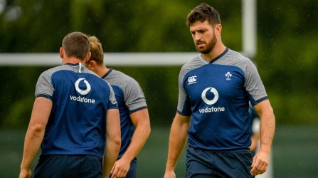 Munster's Jean Kleyn has been named in the second row against Italy