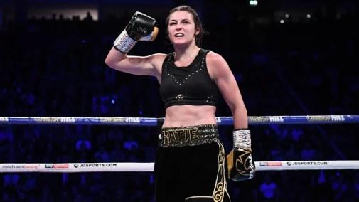 Katie Taylor is unbeaten in 15 professional fights