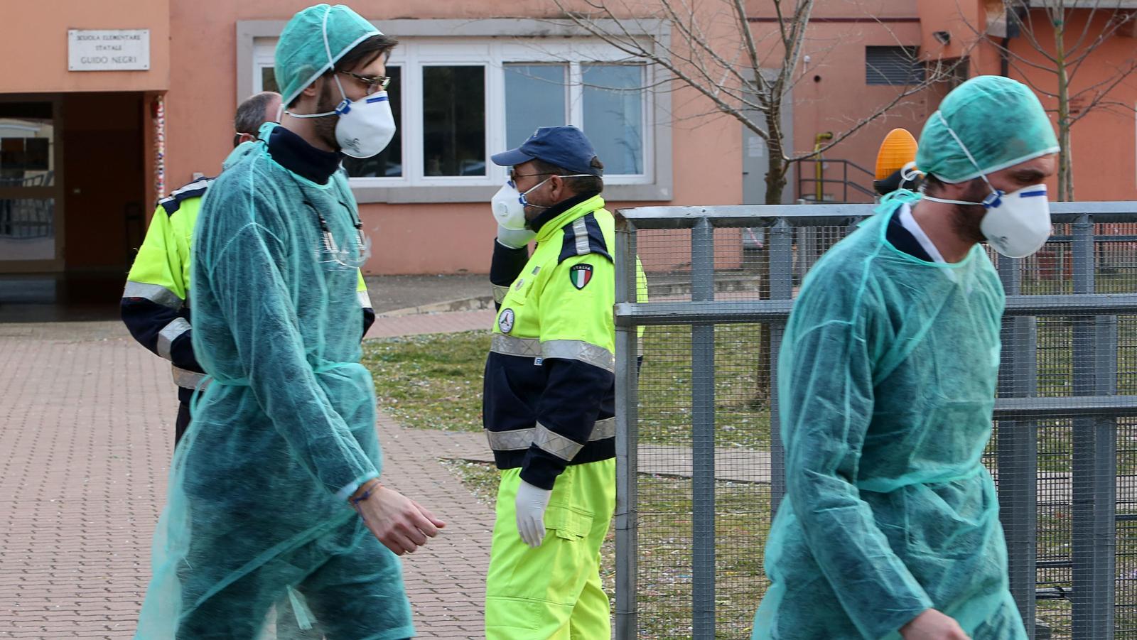 Coronavirus death toll in northern Italy rises to 11