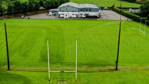 The pitch at Daniel Graham Memorial Park in Ardclough GAA, Kildare
