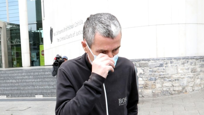 Michael Dunne has been charged with criminal damage of the sculpture