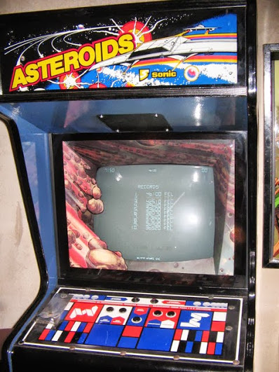 Asteroids de SEGA Sonic  Mquina recreativa