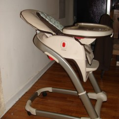 Graco High Chair Blossom Most Expensive Desk Gently Used 4 In 1 Seating System