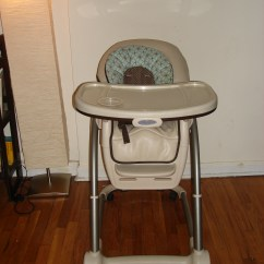 Graco Blossom High Chair 2 Chairs And Table Set Gently Used 4 In 1 Seating System