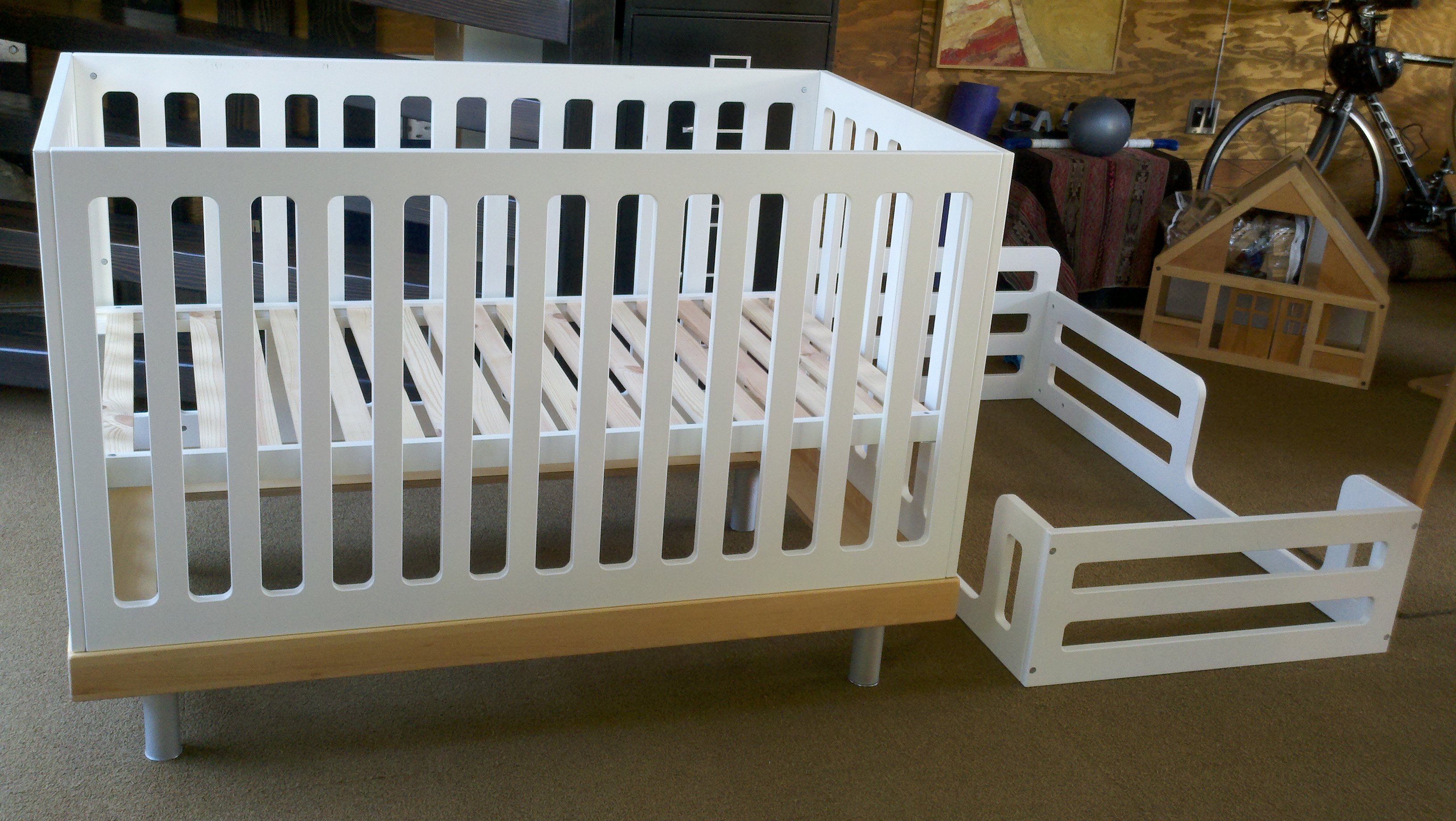 Gently used oeuf Classic Cribs available in 92014 within Del Mar