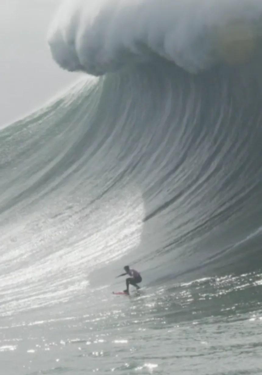 La Plus Grande Vague Du Monde Tsunami : grande, vague, monde, tsunami, Interview, Justine, Dupont, Raconte, Saison