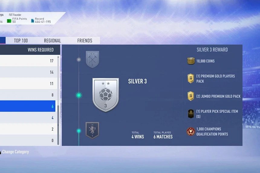 Fut Champions Weekend League 8 Tips To Help You Win