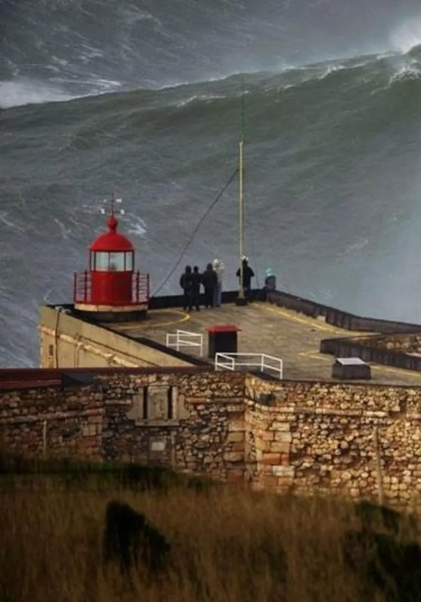 La Plus Grande Vague Du Monde Tsunami : grande, vague, monde, tsunami, Grosses, Vagues, Nazaré