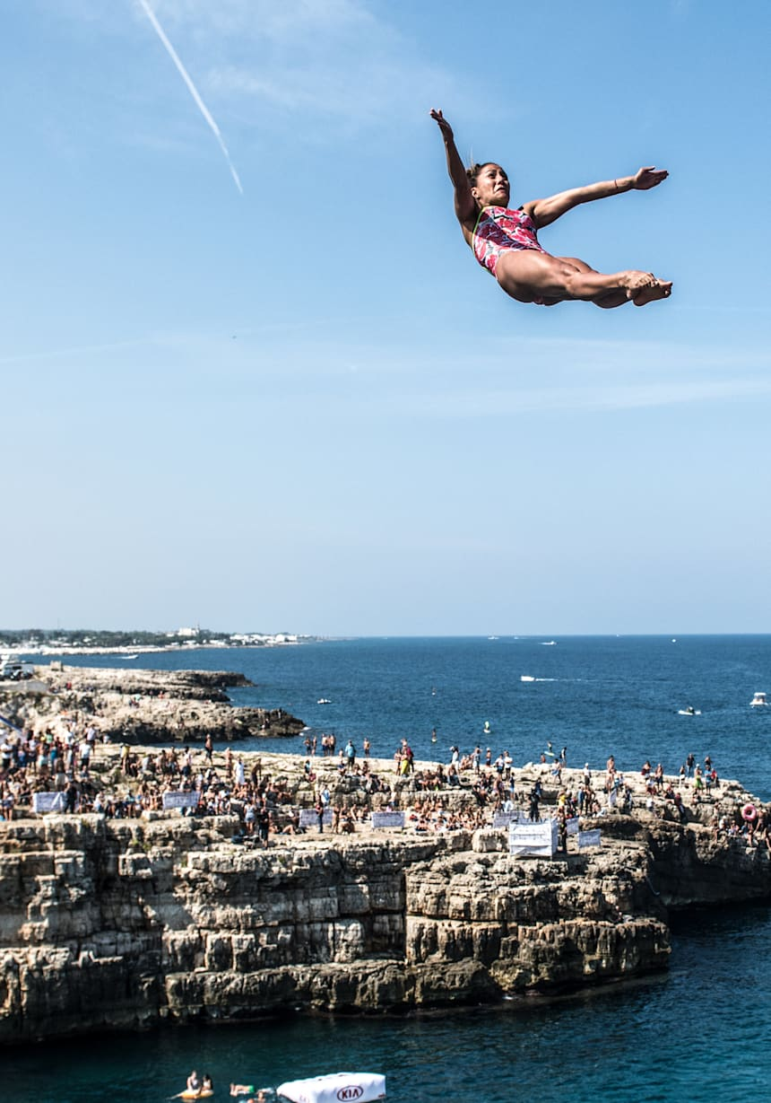 Red Bull Cliff Diving Height : cliff, diving, height, Cliff, Diving, Polignano, 2019:, Event