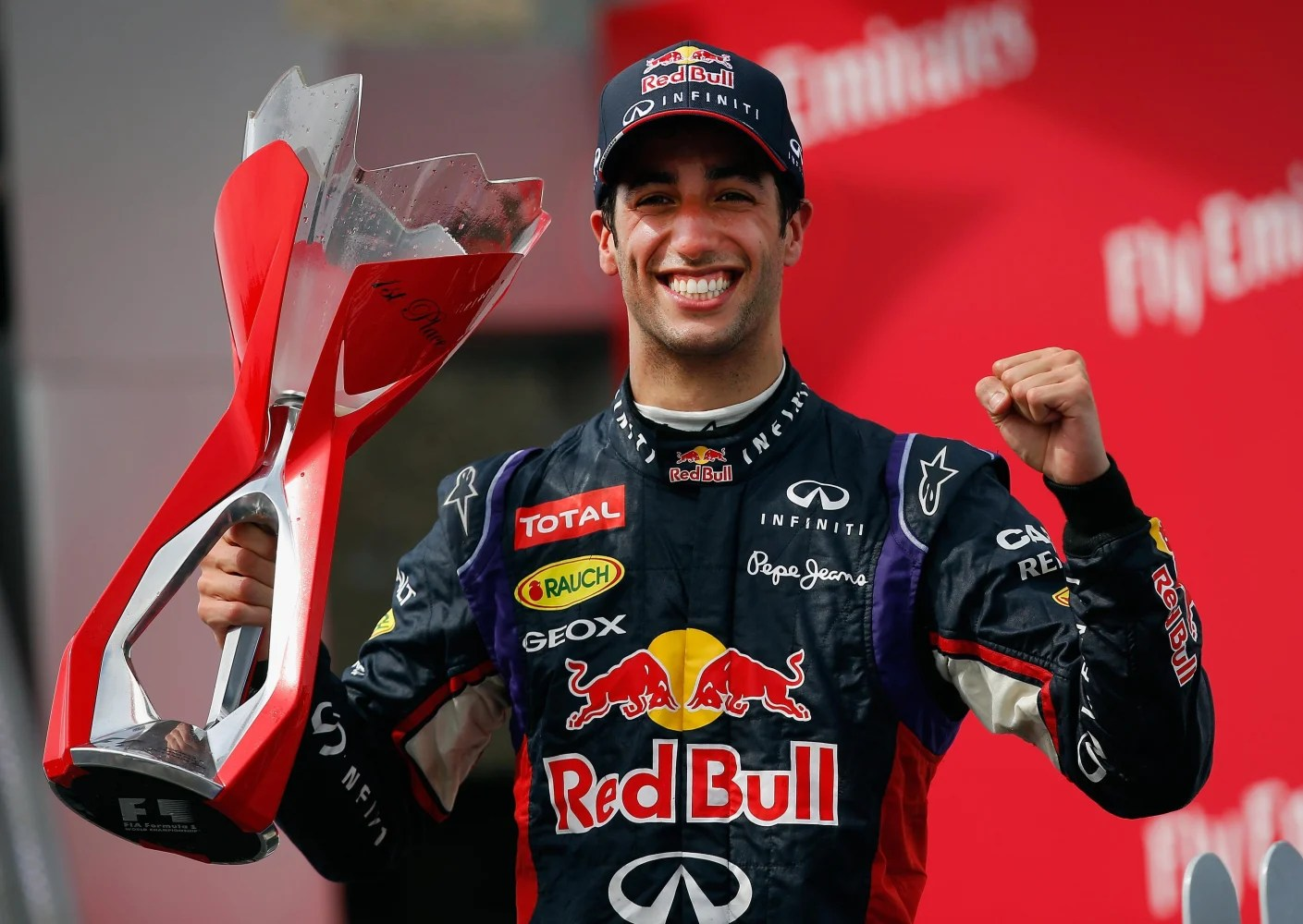 Montreal's stroll seventh f1 title rivals max verstappen and lewis hamilton crashed out, with verstappen's car landing just above hamilton's head. Daniel Ricciardo Wins Thrilling First F1 Win In Canada