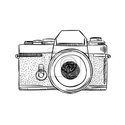 Aparat fotgraficzny fototapety ścienne na wymiar • REDRO.pl