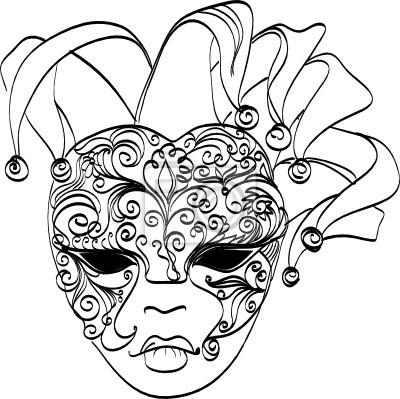 Fototapeta Weneckie maski. Karnawał maska z Wenecji we