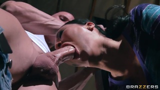Fantastic sex with Asa Akira and Johnny Sins porn image