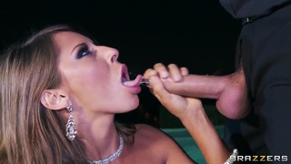 Keiran Lee is pounding Madison Ivy near pool porn image