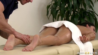 Massage time with Johnny Sins and Nikki Daniels porn image