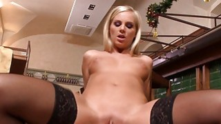 Aletta and Barbie fucked by 2 horny men porn image