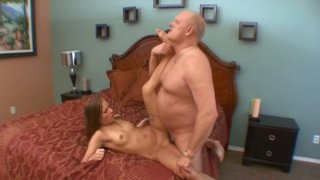 Spoiled chick with big ass Autumn Skyes rides a strong and hot cock porn image