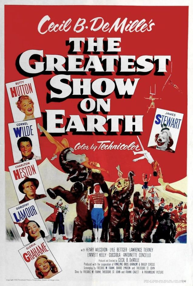 Image result for The Greatest Movie Show on Earth