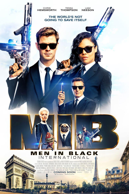Men In Black International Streaming : black, international, streaming, Black:, International, (2019), Watch, FuboTV,, Starz,, Streaming, Online, Reelgood
