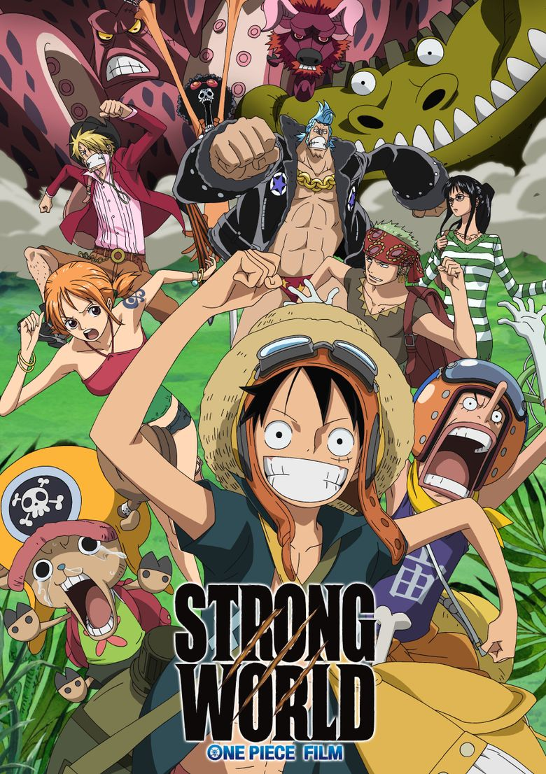 One Piece Film Streaming : piece, streaming, PIECE, STRONG, WORLD, (2009), Where, Watch, Streaming, Online, Reelgood