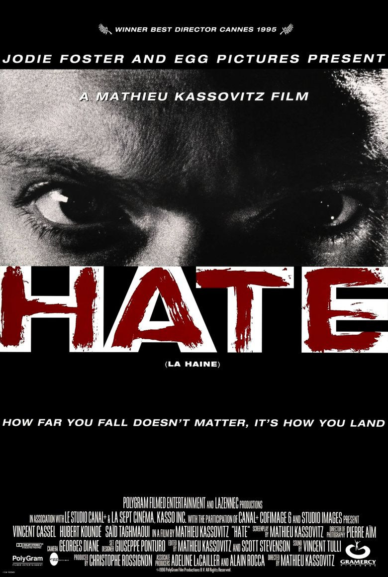 La Haine Film Streaming : haine, streaming, Haine, (1995), Watch, Criterion, Channel,, Kanopy,, Streaming, Online, Reelgood