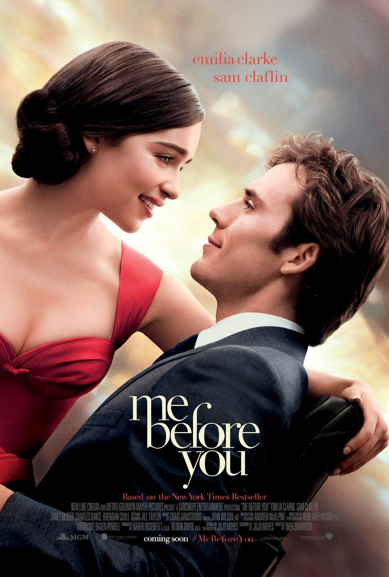 Me Before You Streaming : before, streaming, Before, (2016), Where, Watch, Streaming, Online, Reelgood