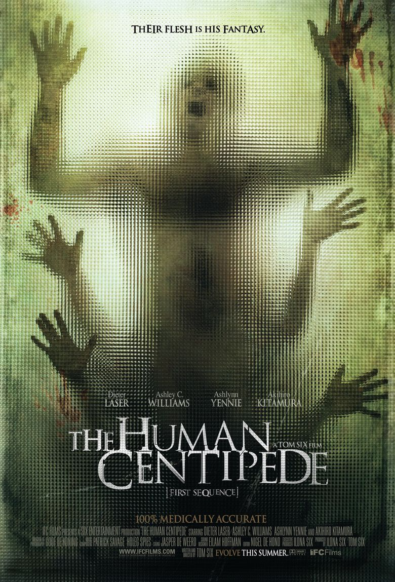 Human Centiped 2 Streaming : human, centiped, streaming, Human, Centipede, (Full, Sequence), (2011), Where, Watch, Streaming, Online, Reelgood