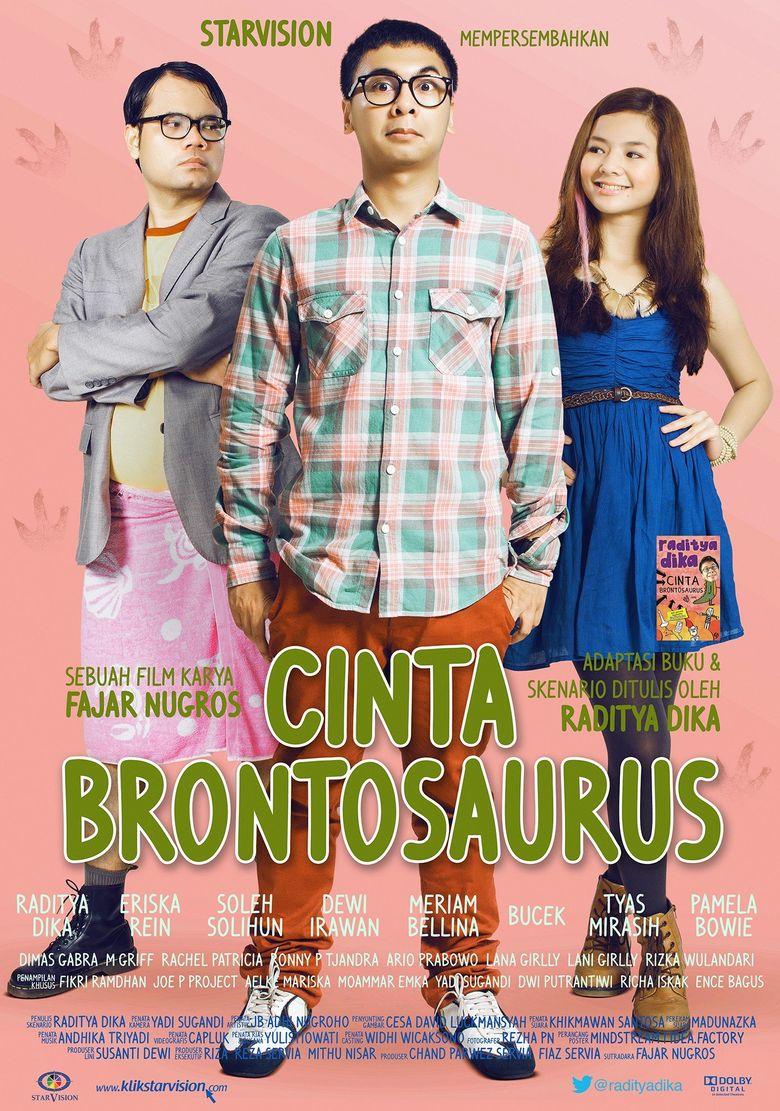 Streaming Film Raditya Dika : streaming, raditya, Cinta, Brontosaurus, (2013), Where, Watch, Streaming, Online, Reelgood