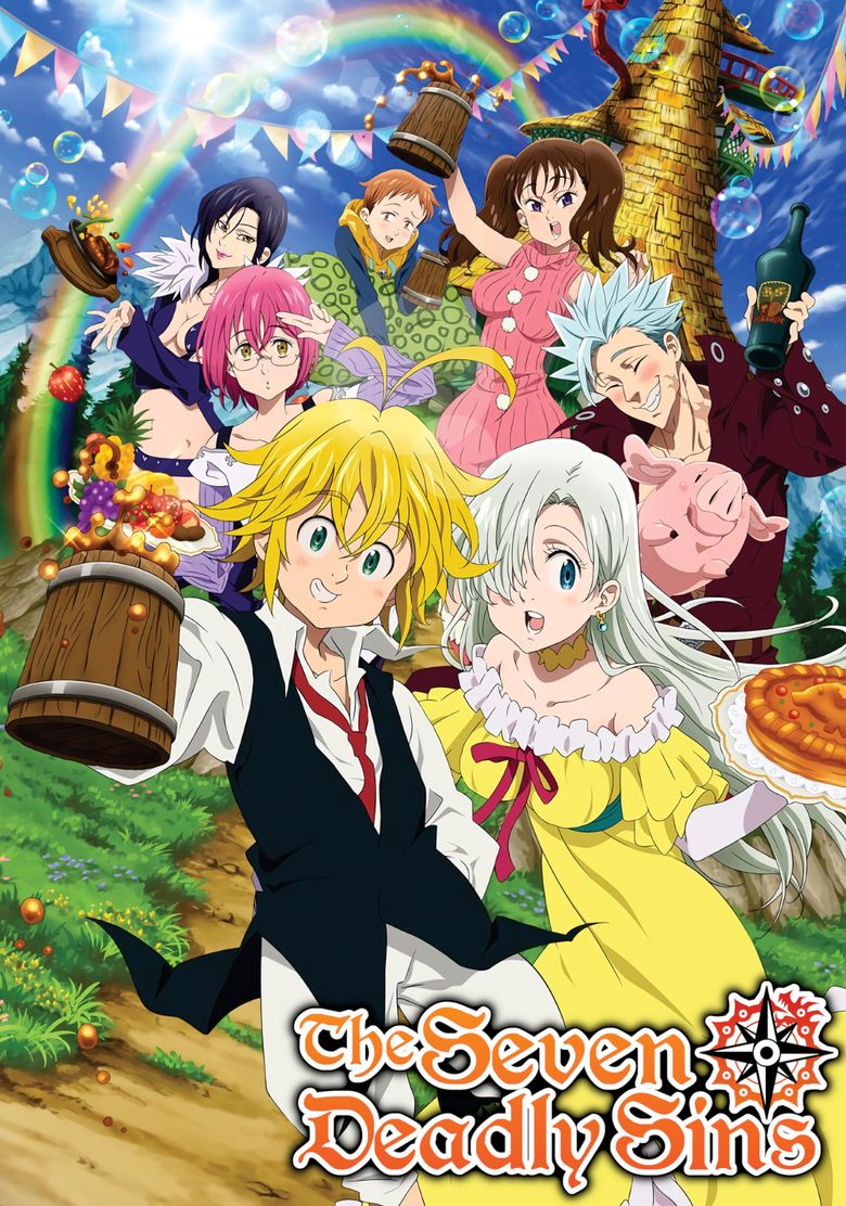 Seven Deadly Sins Streaming : seven, deadly, streaming, Seven, Deadly, Watch, Episodes, Netflix, Streaming, Online, Reelgood