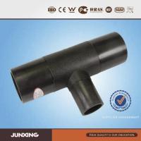 polyethylene fitting PE PEHD Pipe Fittings reducing tee ...