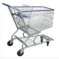 4 Wheels Metal Shopping Trolley Movable Unfolding Hand
