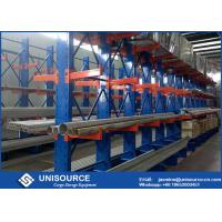 Double Arm Cantilever Storage Racks Metal Sheet Stacking