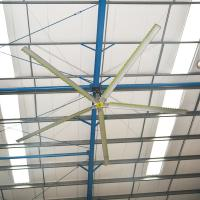 Super Large High Airflow HVLS Ceiling Fans Residential ...