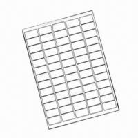 65 White Self-adhesive Printer Labels in A4 Sheet, Label