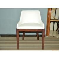 Solid Wood Restaurant Booth Furniture White Dining Chair ...