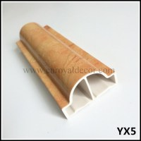 PVC Chair Rail Moulding with certificate of Wall Chair ...