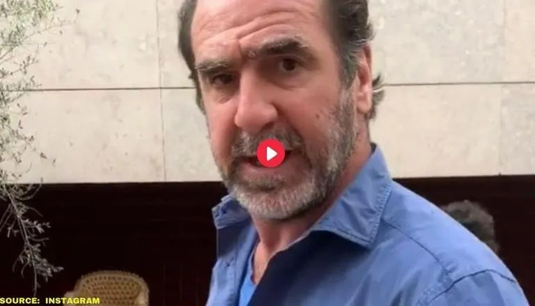 Born 24 may 1966) is a french actor, director, producer, and former professional. Manchester United Legend Eric Cantona Provides Monday Motivation With His Kids