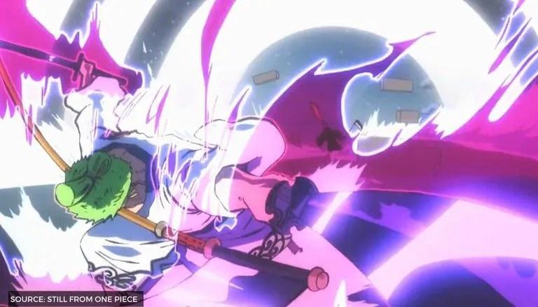 Ace mewarisi kekuatan ini dari ayahnya, sang raja bajak laut, gol d. One Piece 1010 Spoilers Zoro Possesses A Haoshoku Or A Conqueror S Haki