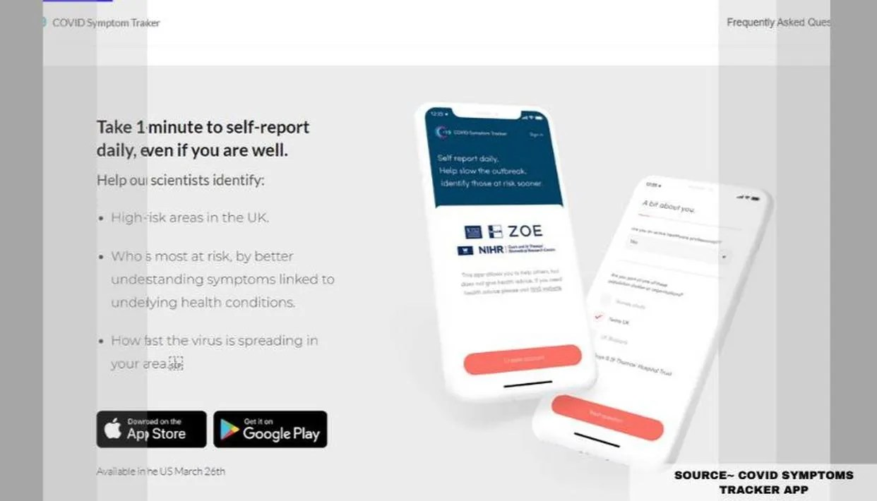 Is Covid Symptom Tracker App Genuine Or A Scam Know