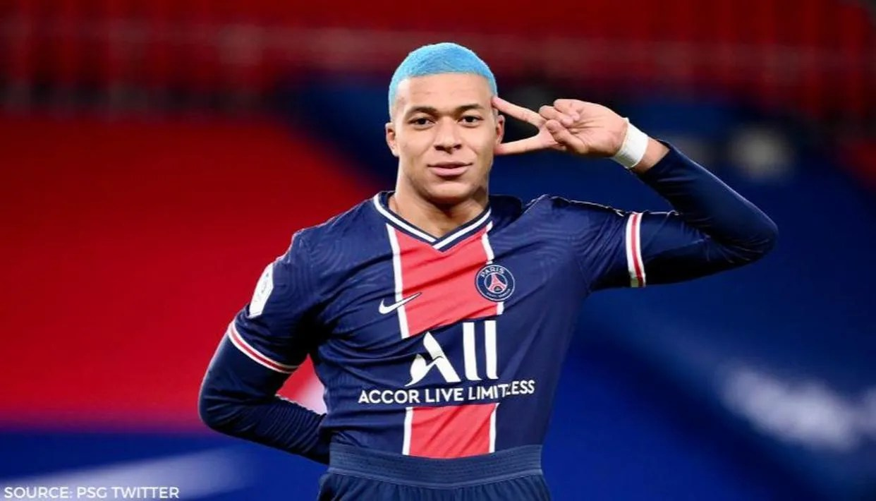 kylian mbappe dons new hairstyle sums