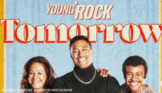 Dwayne Johnson shares a new poster of 'Young Rock' with her unseen original painting