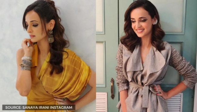 Sanaya Irani shows how to style light but effective eye makeup ...