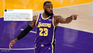 LeBron James thanks Dame, AD, Klay Thompson and others for entrusting him with Space Jam 2