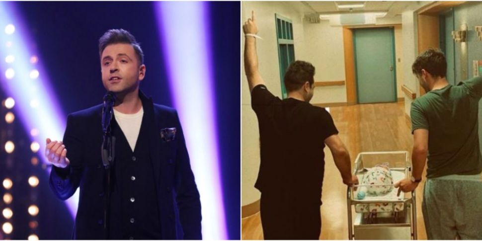 Westlife's Mark Feehily & Fiance Cailean Welcome First Child   www.98fm.com
