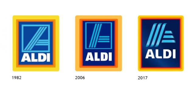 overview logo evolution aldi south group 96dpi - Aldi Goes Full Organic And Bans Pesticide