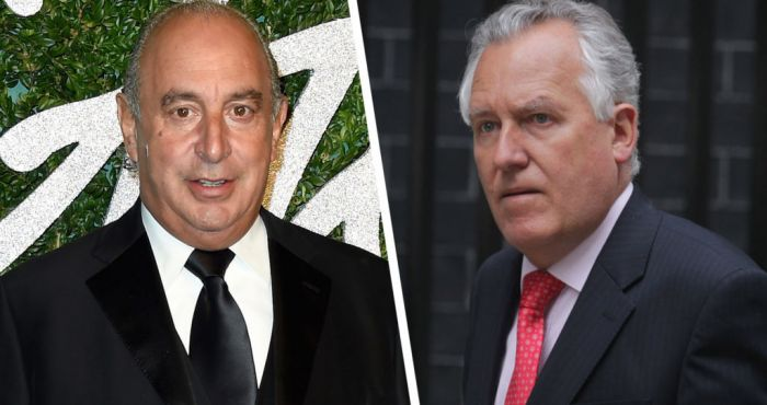 Image result for PHILIP GREEN PETER HAIN