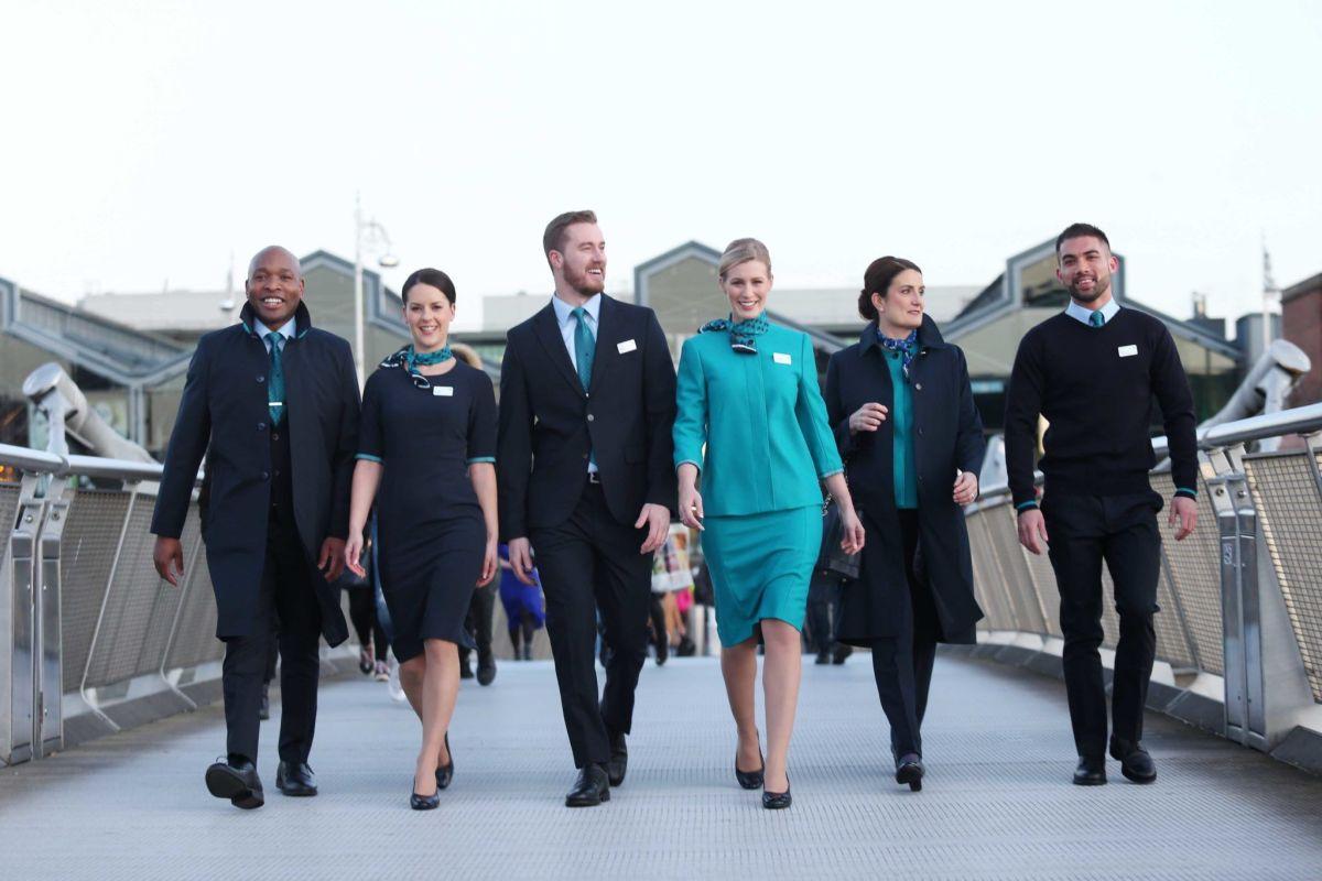 Is Lingus new cabin crew uniform?