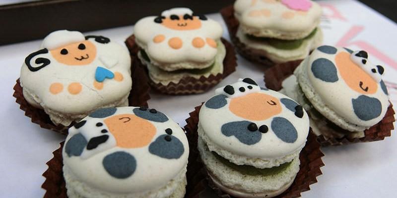 「食」情人節首選 Nina妮娜巧克力工坊 好療癒又卡哇伊 草原系列馬卡龍 マカロン|綿羊造型|馬卡龍|最佳伴手禮|清境農場