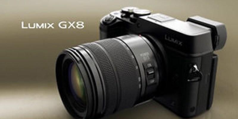 Panasonic Lumix GX8  支援 4K 錄影、2000萬畫素、防塵防滴設計
