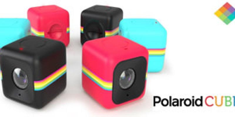 評測》生活玩伴 最輕巧運動攝影機 Polaroid 寶麗萊 CUBE